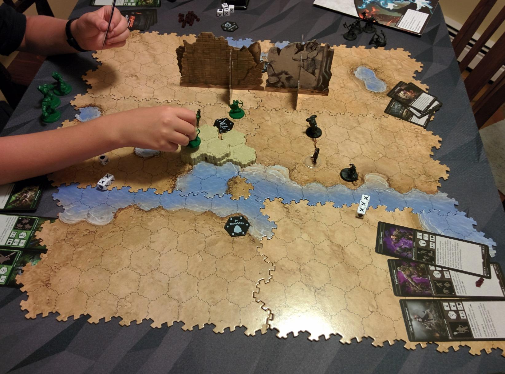 Magic: The Gathering Arena of the Planeswalkers Board Game ... Planeswalker Arena Board Game