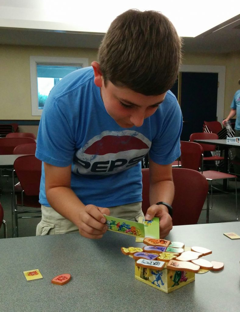 Aaron Having A Blast Playing Push A Monster